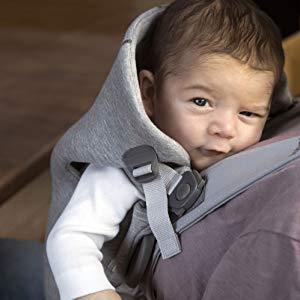 6167de7346a Amazon.com   BABYBJÖRN Baby Carrier Mini 3D Jersey - Dove Blue   Baby