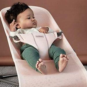 55afadf9d06 Amazon.com   BABYBJÖRN Bouncer Bliss 3D Jersey - Light Grey   Baby