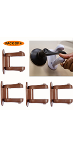 child proof door lever lock