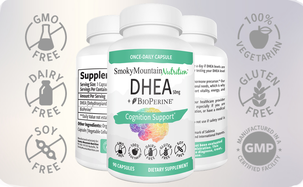 Amazon.com: dhea/extra strength- 50 mg (suministro de 2 mes ...