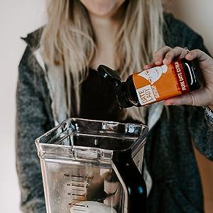 Date Syrup Blender Smoothie