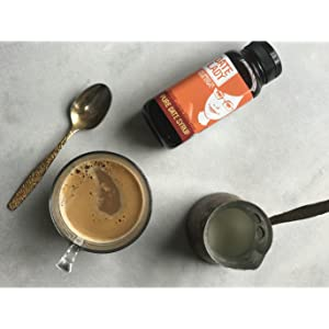 Date Lady Date Syrup in Coffee