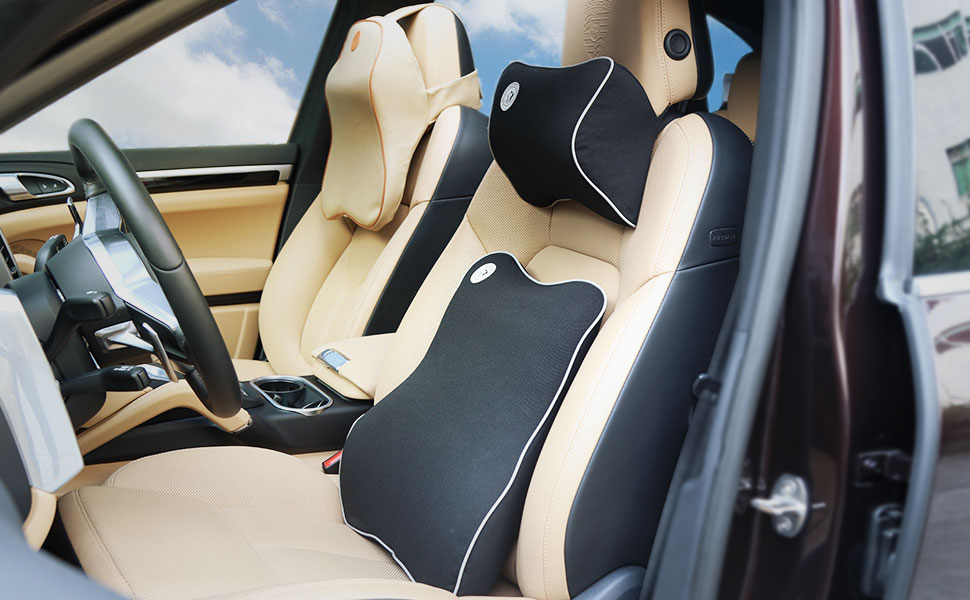 Elerose Nylon Car Rear Seat Backrest Headrest Armrest Handle