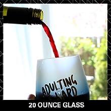 20 Ounce Glass