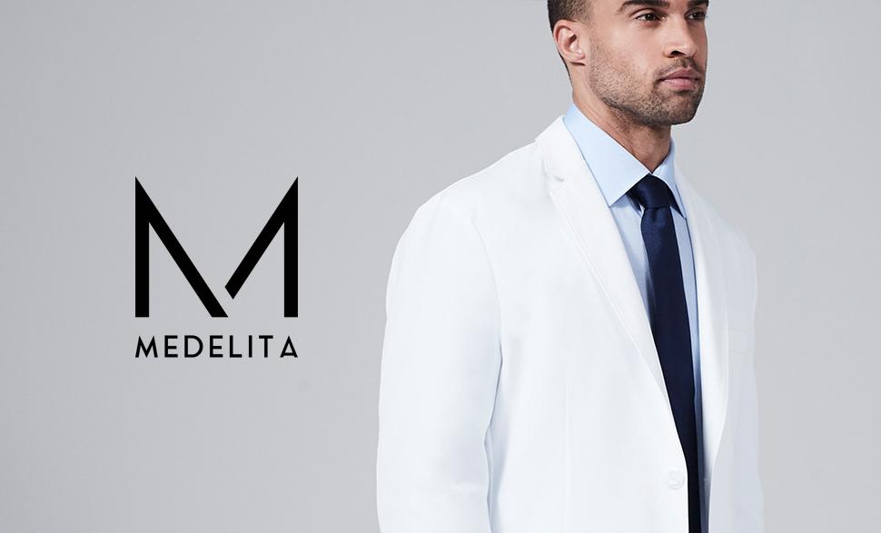 Amazon.com: Men's E. Wilson Slim Fit M3 White Lab Coat ...