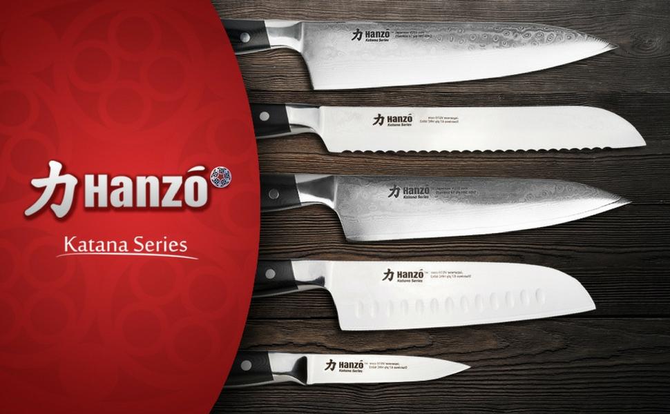 Amazon Com Hanzo Chef Knife Professional Knives 9 5 Inch Katana