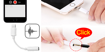 mic for iPhone lavalier microphone recording video shooting