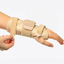 Sparthos Wrist Support Sleeves Medical Wrist Brace for Men and Women Pair
