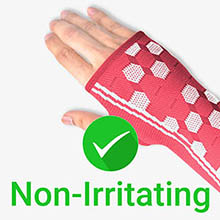 Sparthos wrist sleeve improves blood circulation, osteoporosis, tendonitis, carpal tunnel, sprains