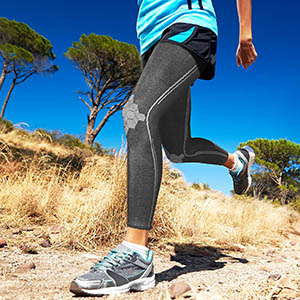 Sparthos Full Leg Sleeves Thigh Calf Knee Sleeve Support Brace