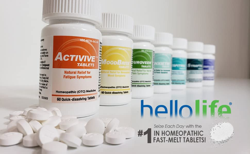 HelloLife Fast-Melt Homeopathics