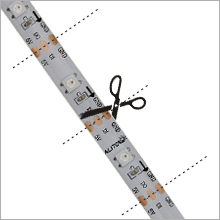 16.4ft WS2812B Individually Addressable LED Strip Light 11
