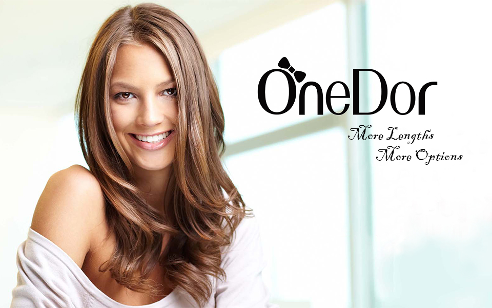Amazon Onedor 24 Straight 34 Full Head Synthetic Hair