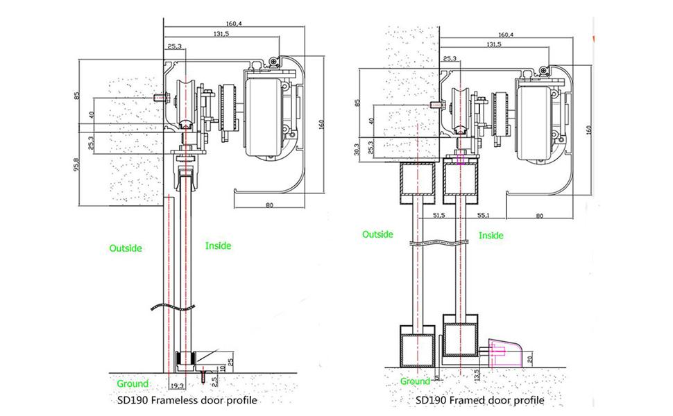 auto slide door opener wiring diagrams