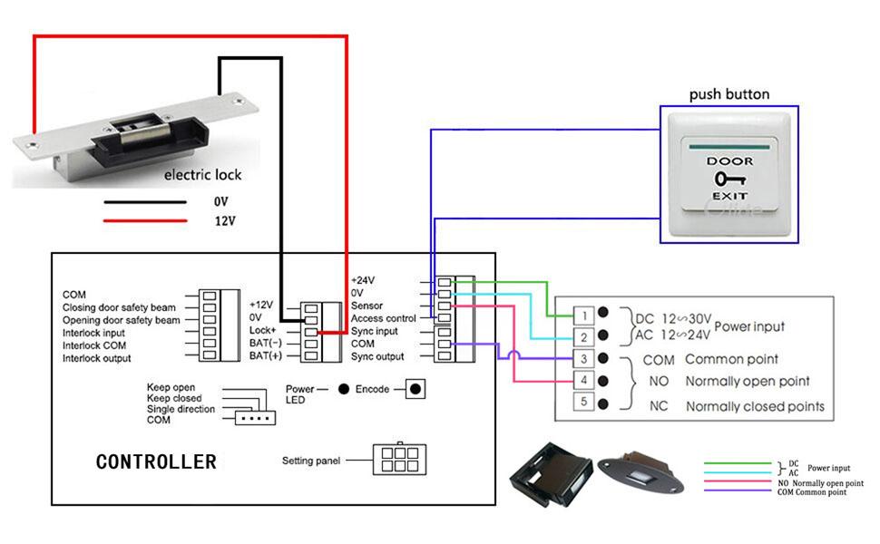 Door Operators Wiring Diagrams - Home Wiring Diagrams on
