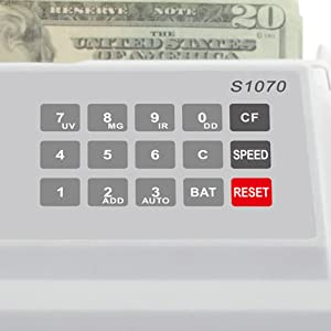 bill counter counting speeds bill per minute