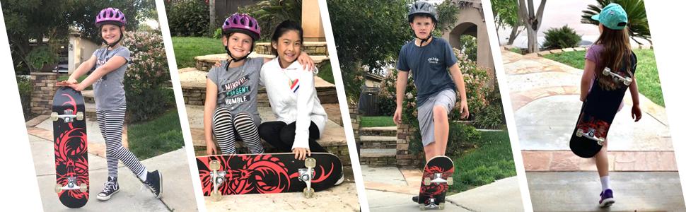 ChromeWheels Skateboard