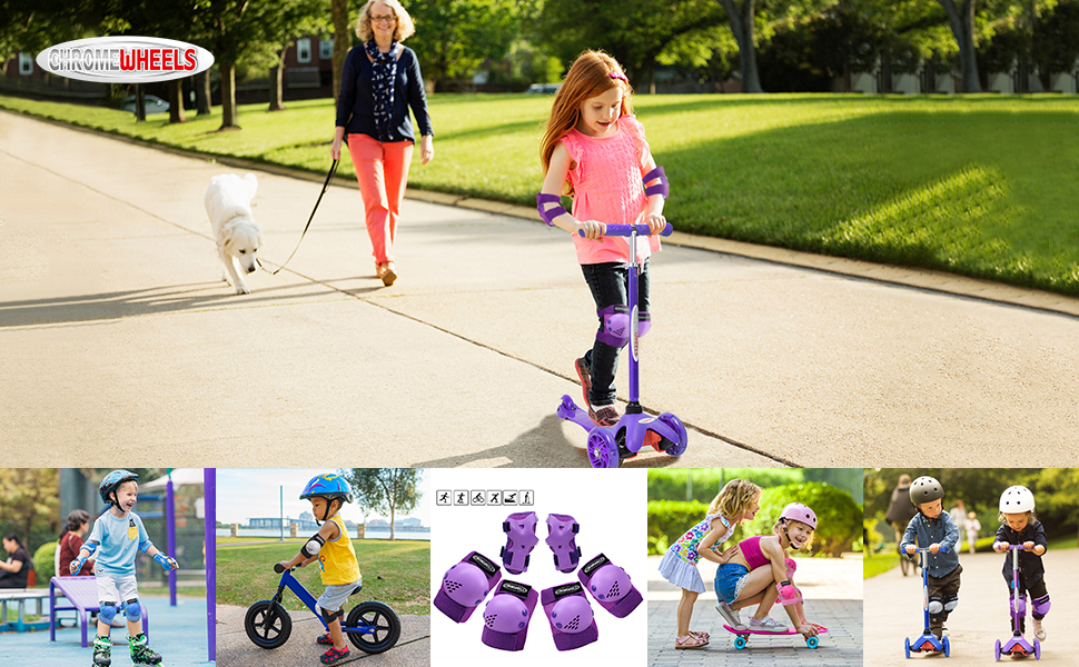 ChromeWheels Scooter for Kids