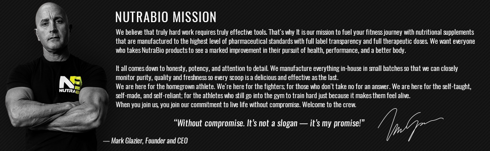 nutrabio without compromise mark glazier