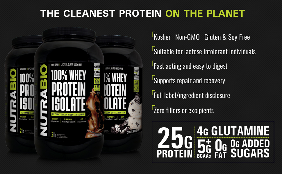 whey protein isolate supplement powder kosher made in usa non gmo gluten soy lactose free