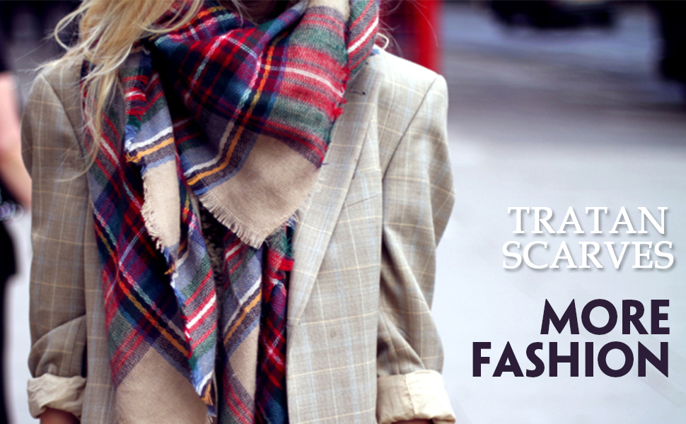 Timeless Patterns  Dimore Plaid Blanket Scarf Features Patterns That Never  Fade From Fashion! 0965b915fa7