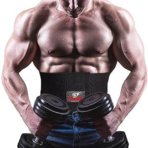 waist trimmer sauna belt for sweet sweat weight loss abdominal belt