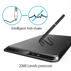 drawing tablet for computer huion 1060 plus huion kamvas gt-191 drawing tablet with screen display