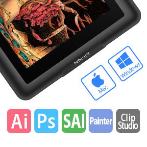 ugee m708 graphic drawing tablet xp-pen deco 01 xp-pen drawing tablet for computer