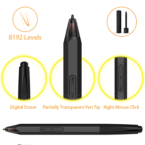 XP-PEN CR Artist12 11.6 Inch FHD Drawing Monitor Pen Display Graphic Monitor with PN06 Battery-Free Pen Multi-Function Pen Holder and Glove 8192 Pressure Sensitivity XP-EPN