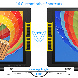 graphic display tablets