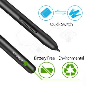 amazon com xp pen star03 12 graphics drawing pen tablet drawing