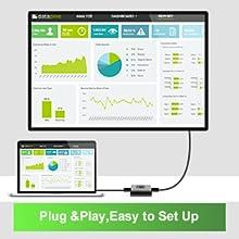 plug and play, easy to set up