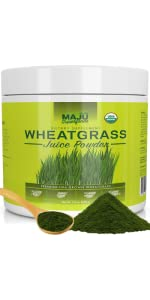organic wheatgrass juice powder