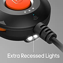 EXTRA RECESSED LIGHTS
