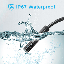 Waterproof endoscope