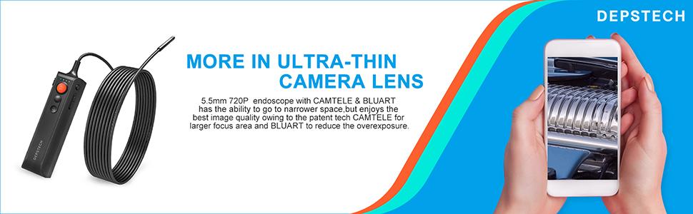 Ultra thin camera