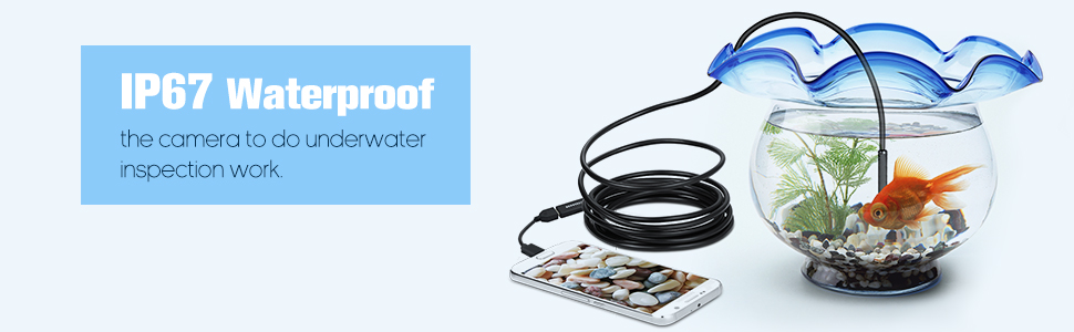 waterproof usb endoscope