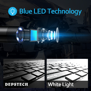 Unique Blue Led Technology