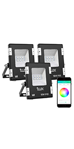 Le Outdoor Led Flood Lights Ip65 Waterproof 10w 800lm