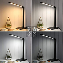 Le Dimmable Led Desk Lamp 8w 3 Color Modes 7 Brightness