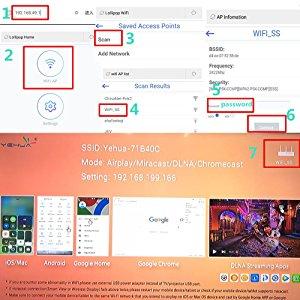 phone to tv hdmi: IP Address Setup