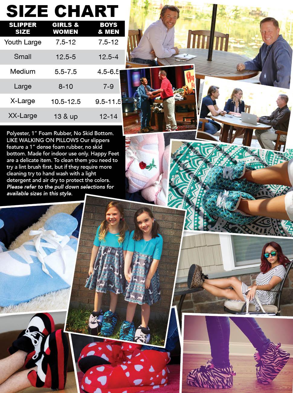 04e6d76137bc37 Amazon.com  1093-4 - Snooki s Zebra Print - XL - Happy Feet Snooki ...
