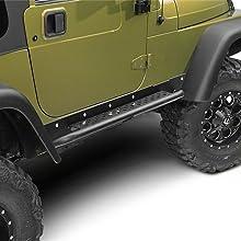 jeep tj steps