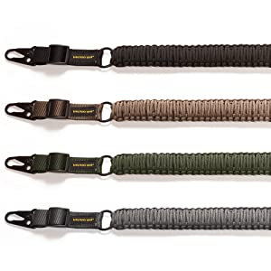 4 Color Slings, Black, Tan, Army Green, Charcoal Gray