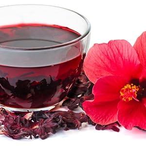 Amazoncom Hibiscus Flowers Tea 15 Oz 425 G Bulk 100