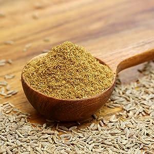 cumin powder seeds