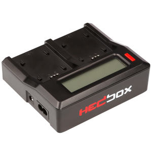 RP-DC50//DBPU RP-BPU80 HED-BP95D HEDBOX Compatible for Sony BP- U30//U60//U90 and Hedbox HED-BP75D RP-BP85D Camcorder Battery Dual LCD Intelligent Battery Charger
