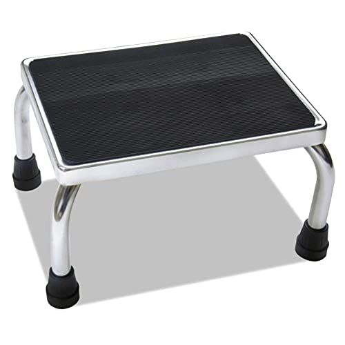 fully assembled eva medical foot step stool with non skid rubber platform - Step Stool
