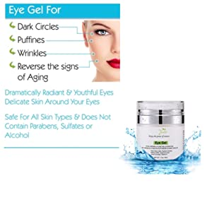 natural eye gel natural eye cream organic eye cream for men and women all natural eye cream eye gel