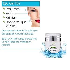 natural eye gel natural eye cream organic eye cream for men and women all natural eye cream eye gel